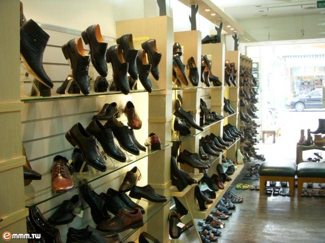 皮鞋专厅效果图